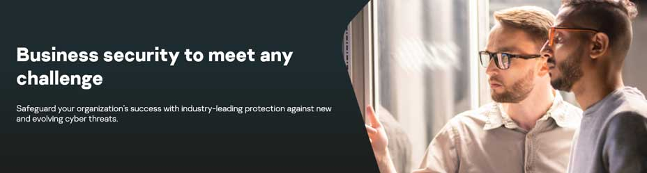 kaspersky for business banner