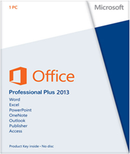 Microsoft Office 2013 Professional box