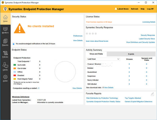 symantec endpoint protection manager