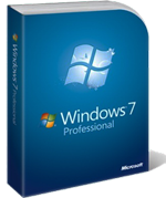 Windows 7 Professional - box