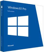 Windows 8.1 Professional - box